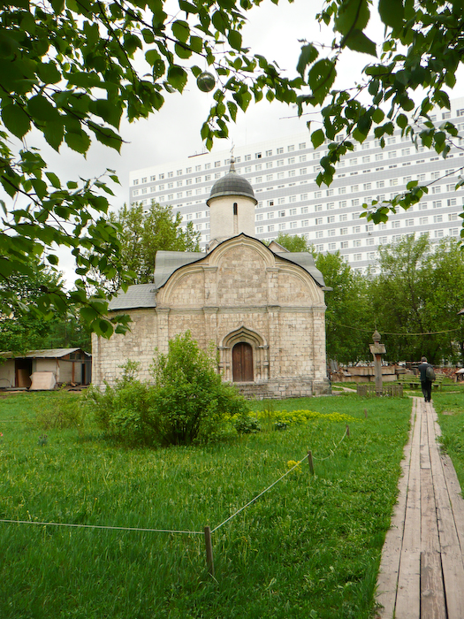 Nearby is the Church of St. Tryphon, which was built on the spot of his appearance during the time of Ivan the Terrible.