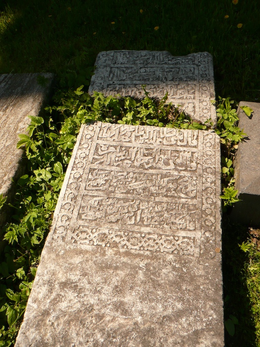 Found a gravestone in Arabic...
