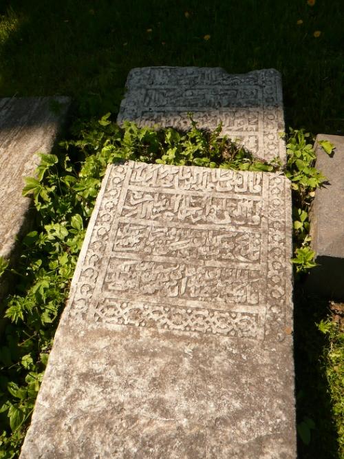 Found a gravestone in Arabic...