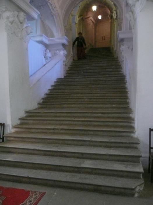 33 steps down...