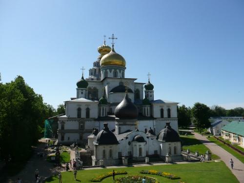 The main church complex